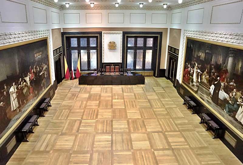 Brožíkův zasedácí sál