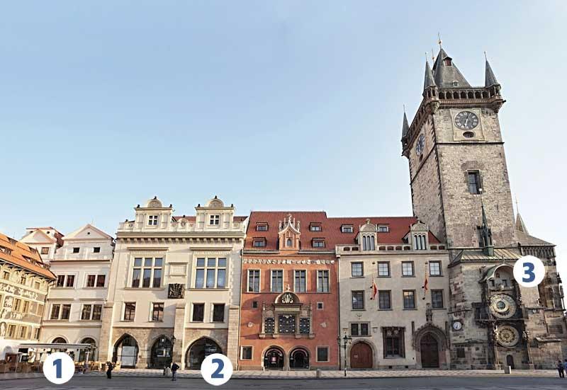 Plán Staroměstké radnice