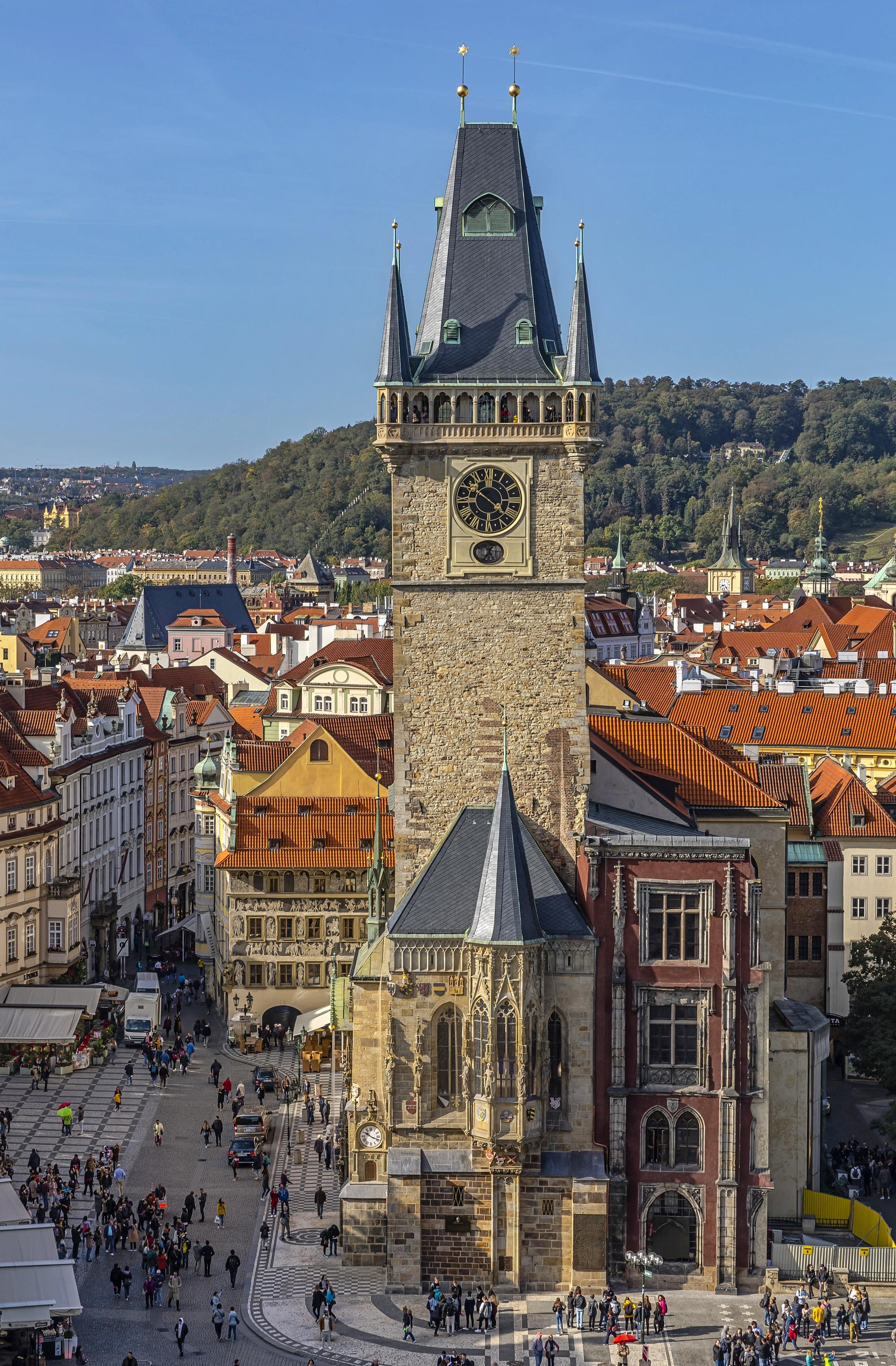 The Towers Of Prague Prague Eu