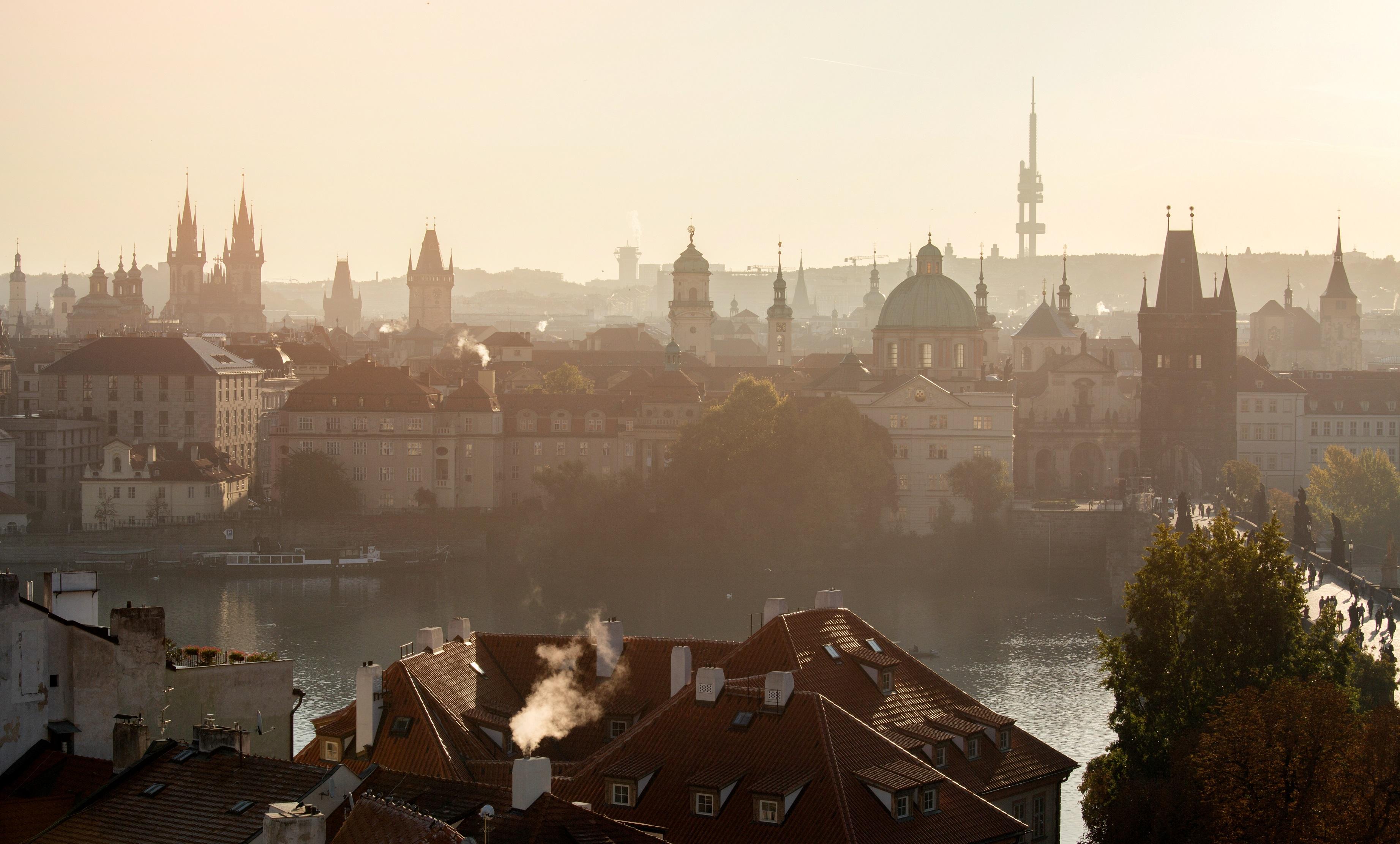The Towers of Prague - Prague eu