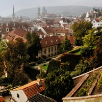 Palace Gardens below Prague Castle, photo: PCT