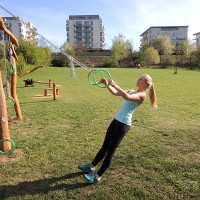 Fitness al aire libre (foto: Hammer Strength Fitness)