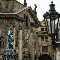 Charles IV. (Statue at Charles Bridge), photo: PCT