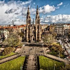Vinohrady - La Dolce Vita of  Prague's Upper Crust
