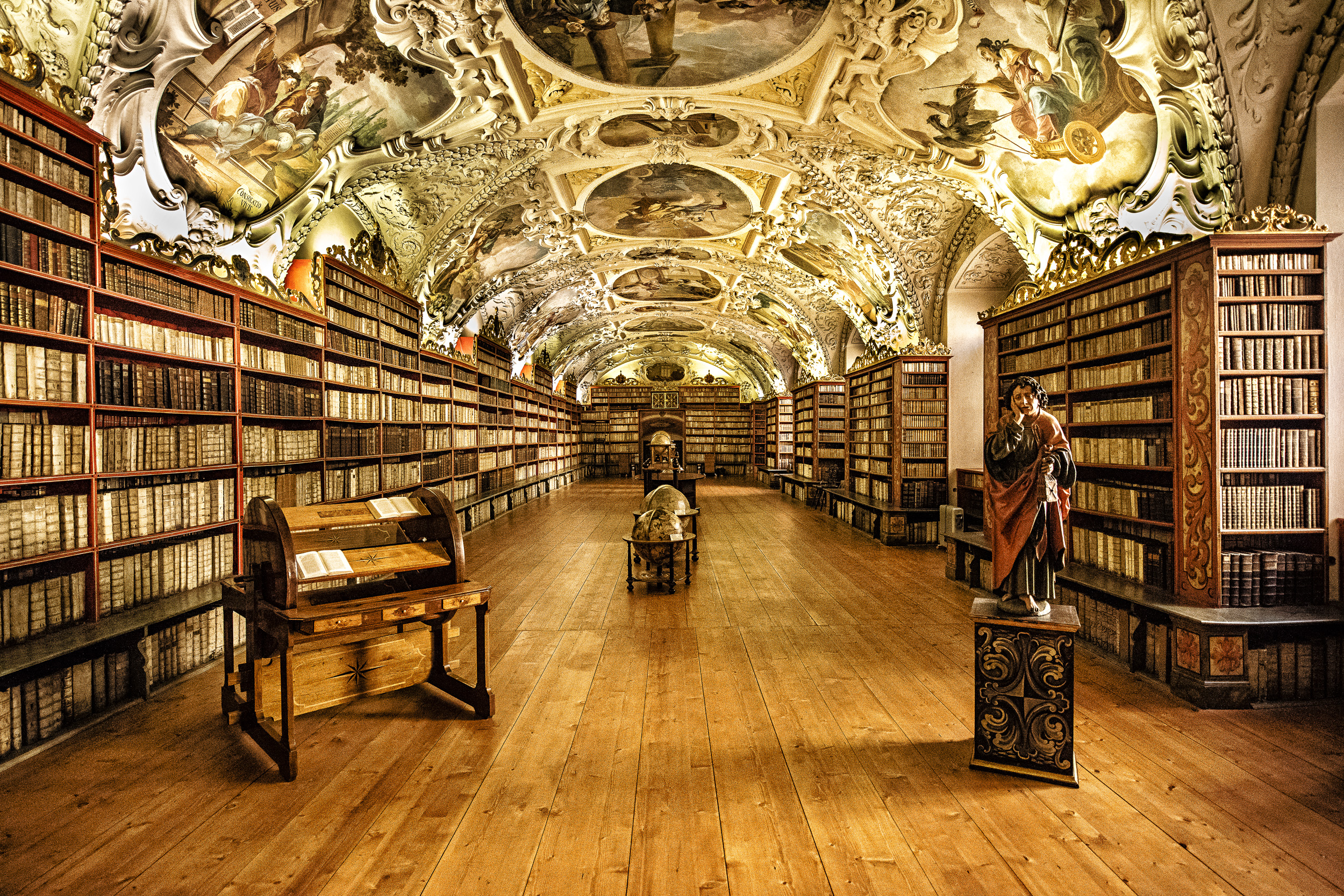 Image result for strahov library