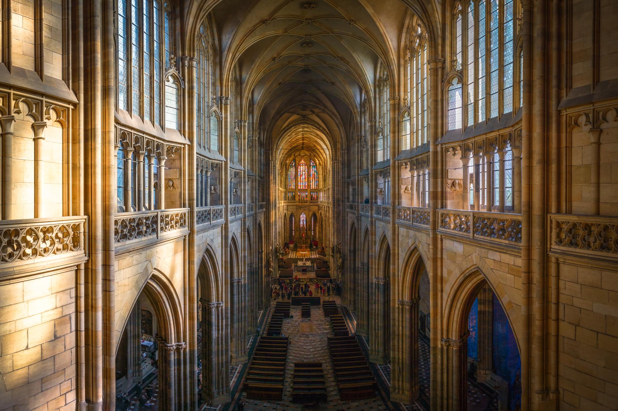 Prague Castle - Cathedral of St Vitus, St Wenceslas and St